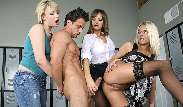 Cfnm Plus Featuring Clothed Women Having Their Way With -3474