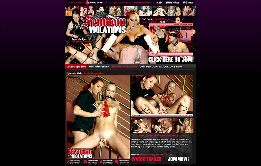 femdom violations