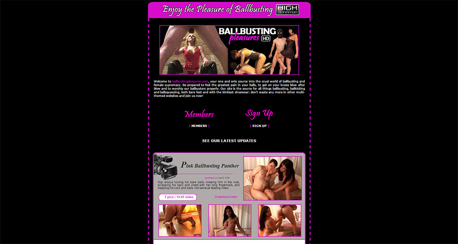 ballbusting pleasures