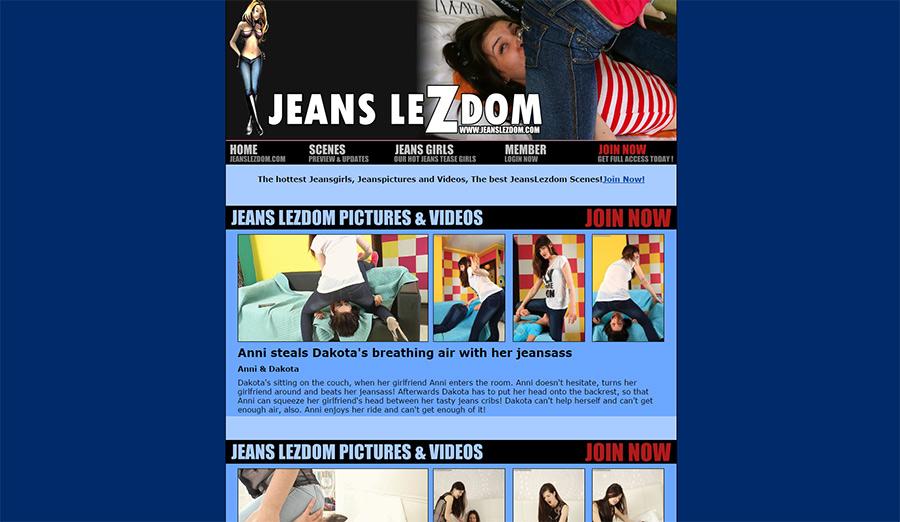 jeans lezdom